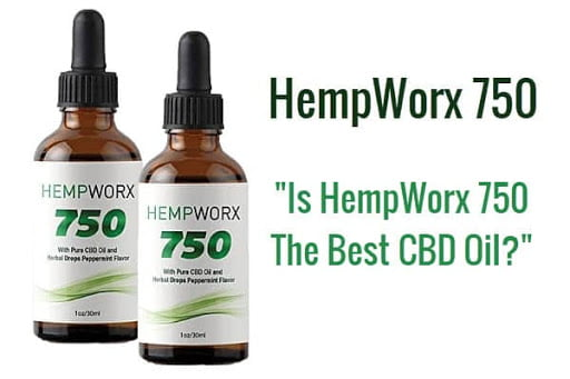 HempWorx 750mg CBD Oil